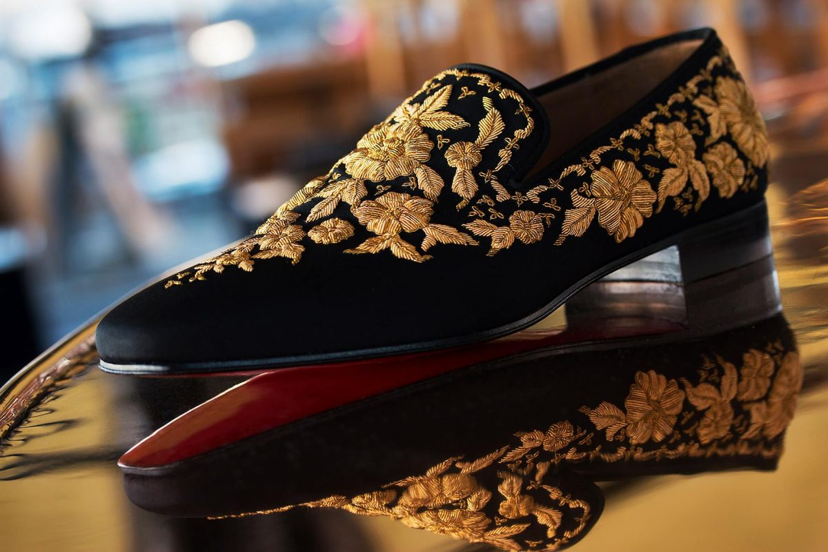 christian louboutin man loafers