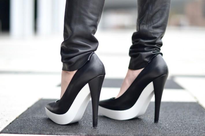 Stella Mccartney white sole heels