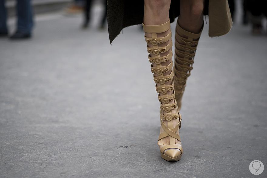 Versace im koo Elena Perminova Paris fashion week 2013