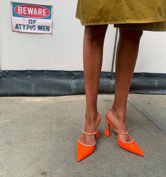 Amina Muaddi shoes