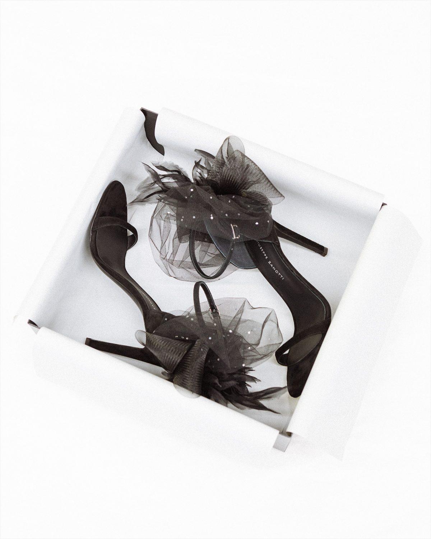 Giuseppe Zanotti Odile black sandals