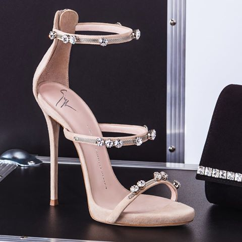 Giuseppe Zanotti harmony ankle strap high heel sandals