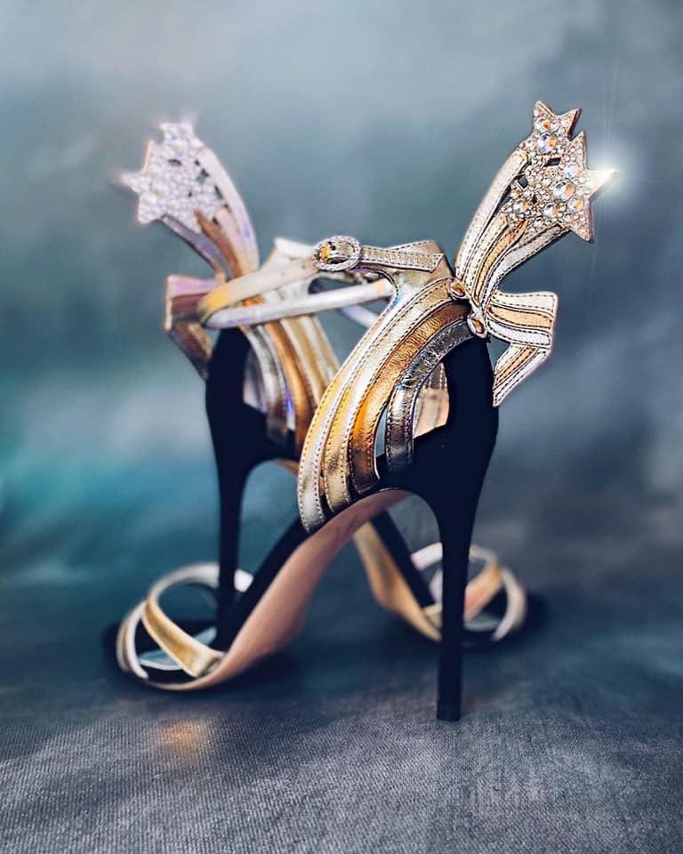 Sophia Webster Astra leather sandals