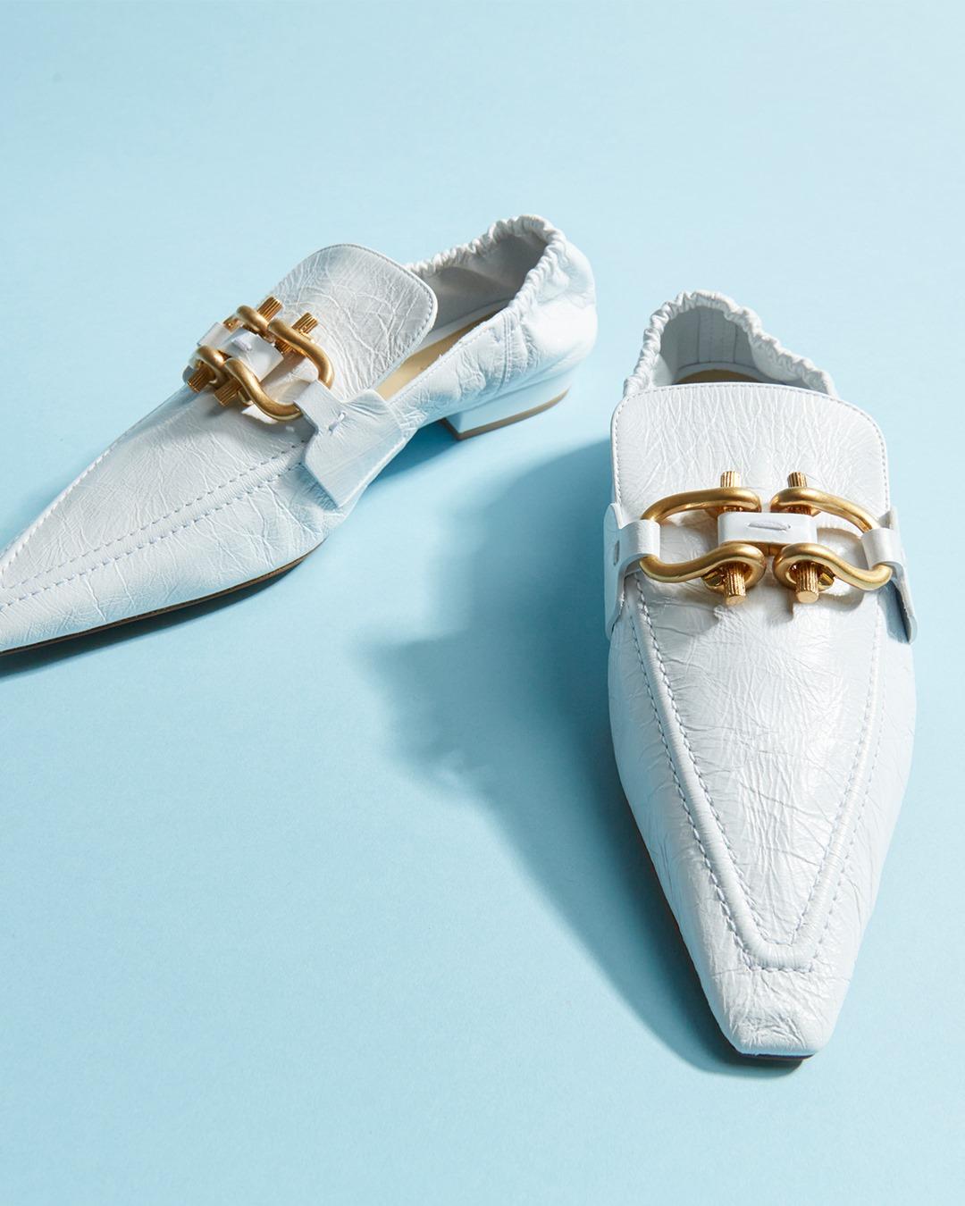 Bottega Veneta The Madame leather loafers